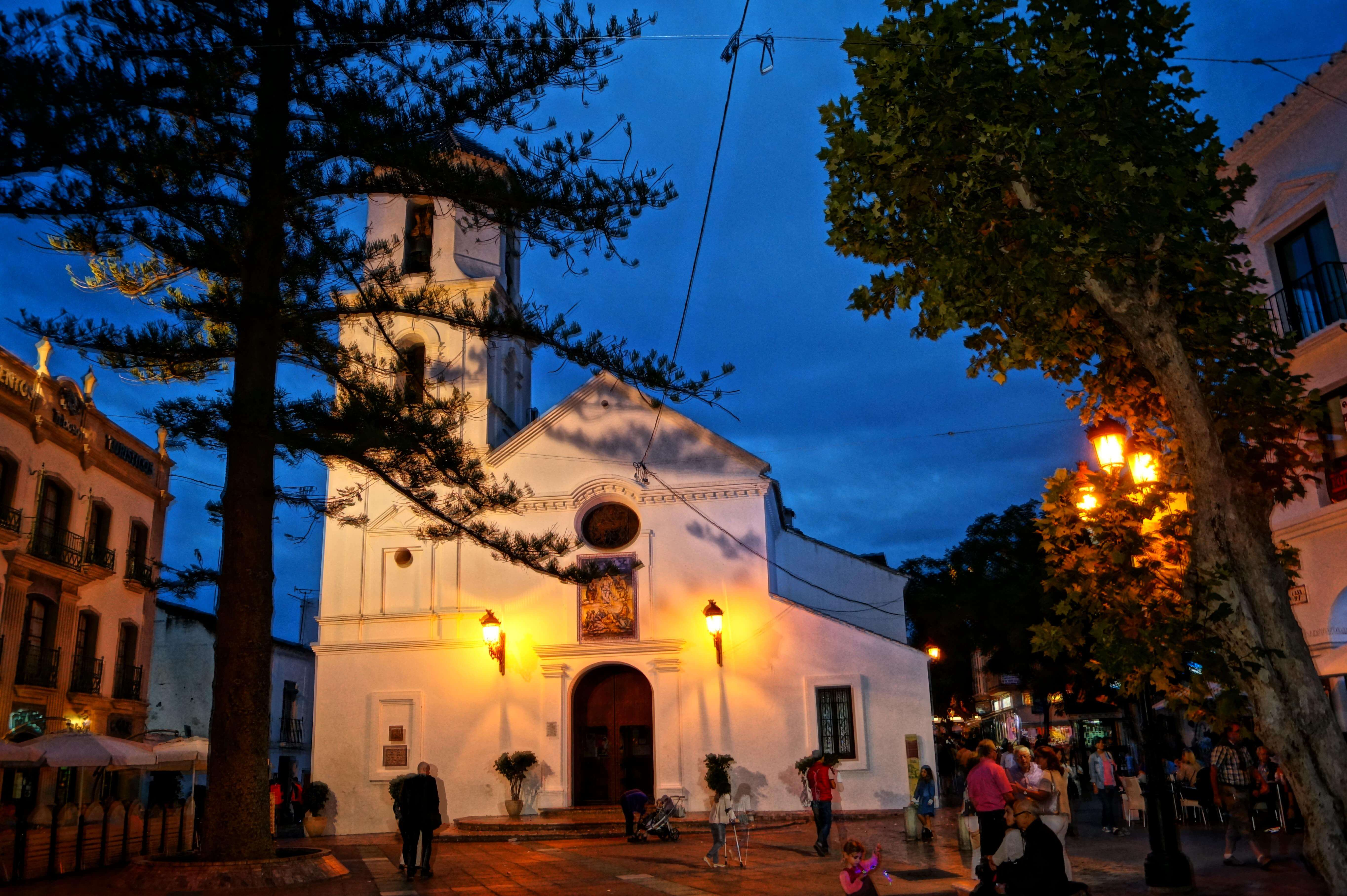 Nerja, Kirche am Balcon de Europa