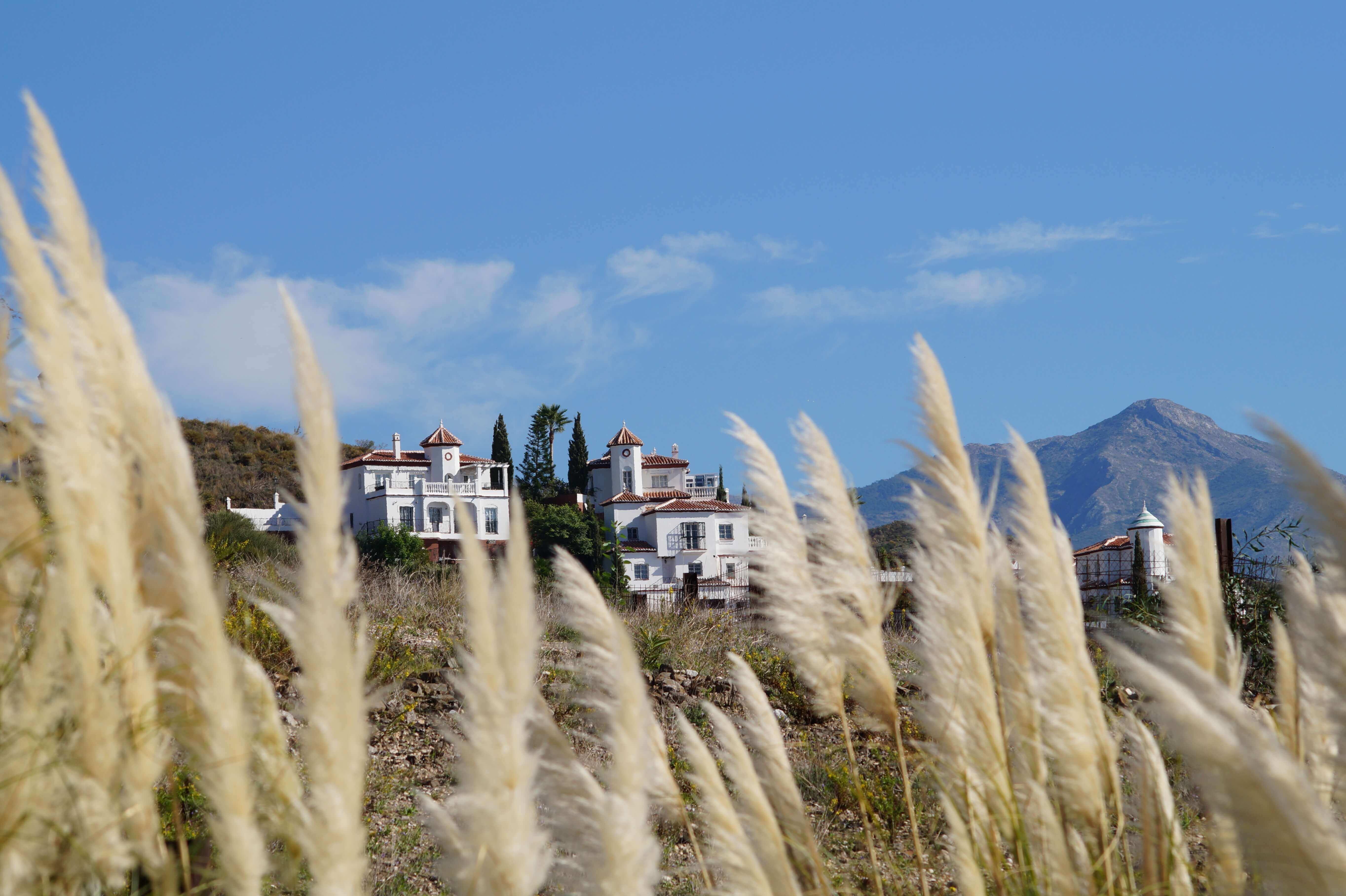 Blick in die Berge bei Fuerte Calaceite, Torrox Costa