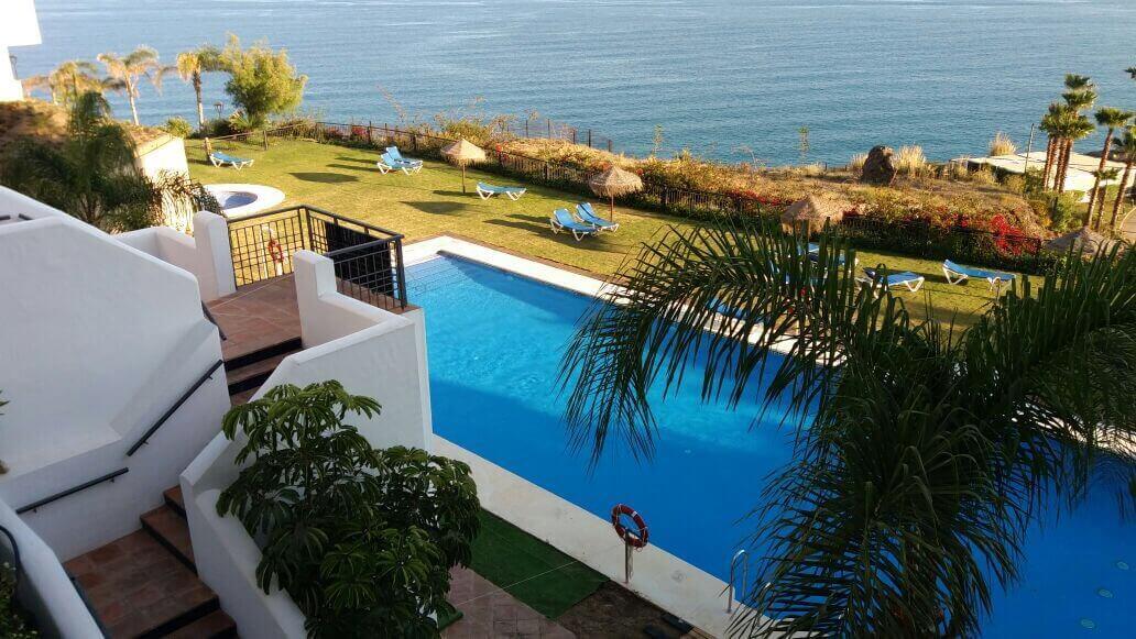 Pool in Fuerte Calaceite, Torrox Costa