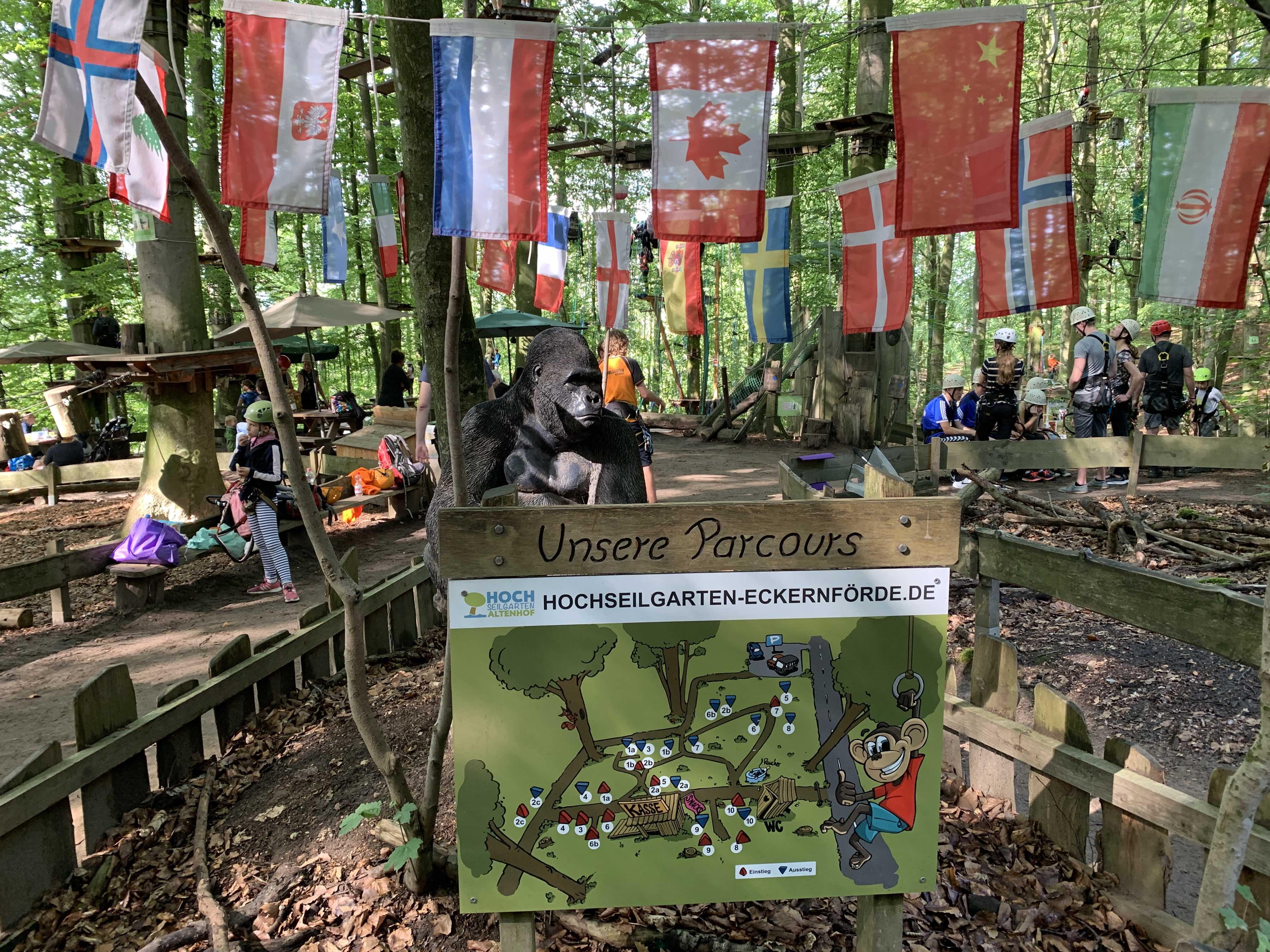 Hochseilgarten Eckernförde – Aktiv im Urlaub